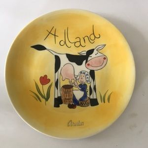 Bosman Holland Hand Painted Plate